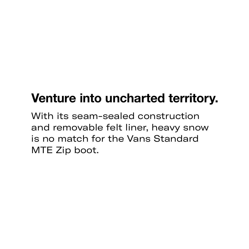 Men's Standard Zip MTE Boots in Brown