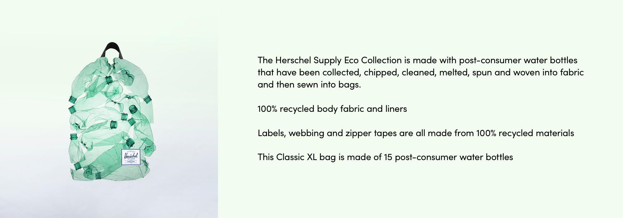 Herschel Eco Classic XL Backpack