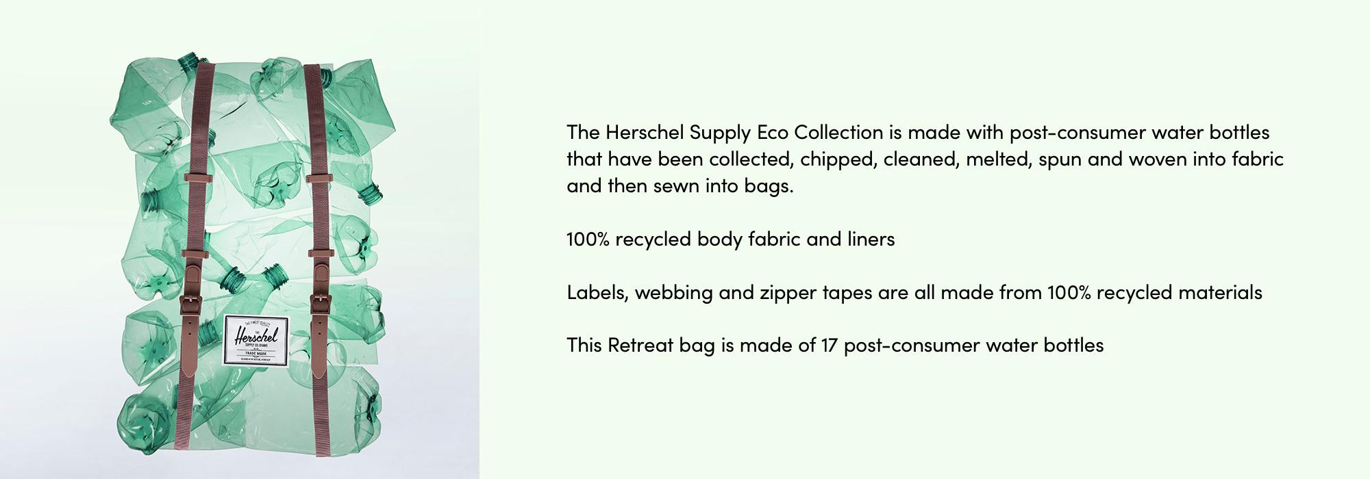 Herschel Eco Retreat Backpack