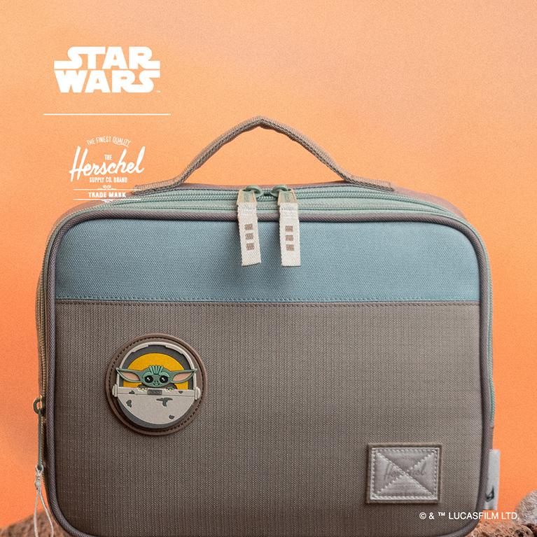 Herschel Supply X Star Wars Mandalorian Pop Quiz Lunch Box