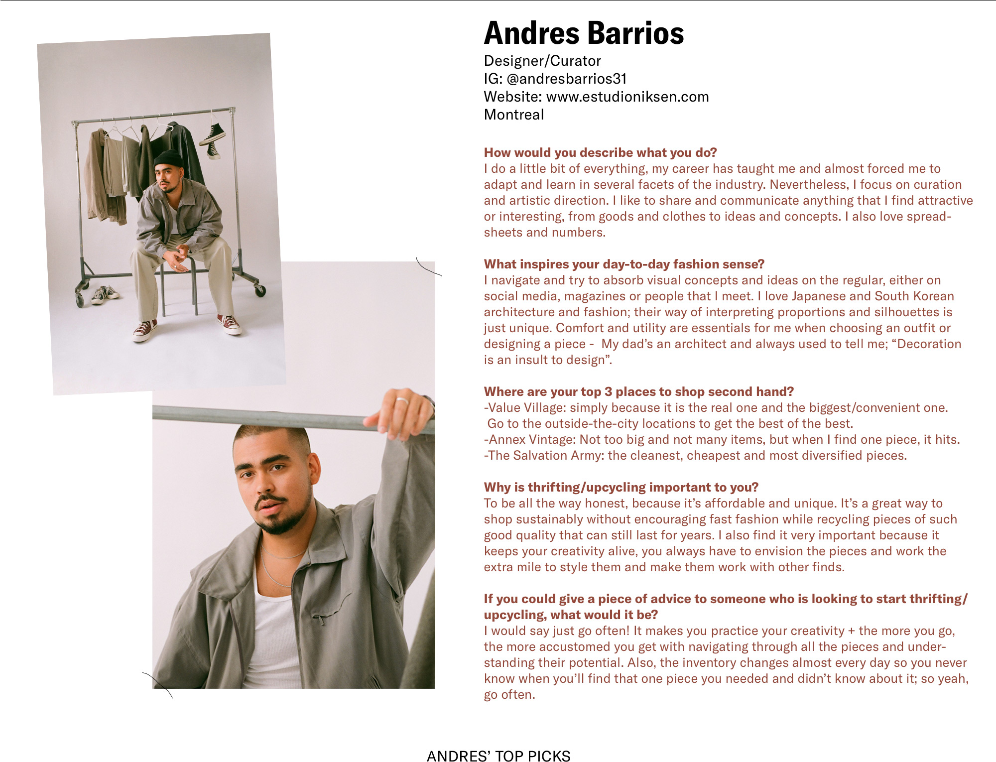 Create Next Andres Q & A