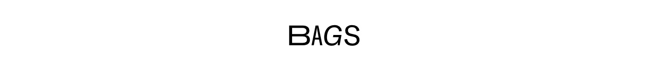 Bags landing page Banner