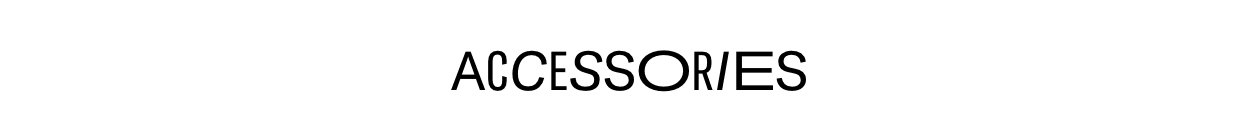 Accessories landing page banner