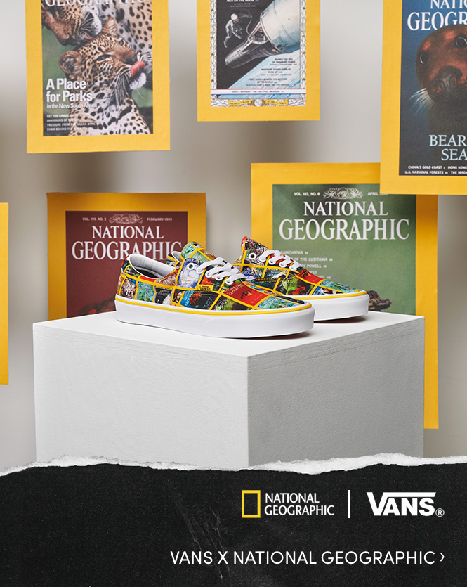 Collection Vans X National Geographic