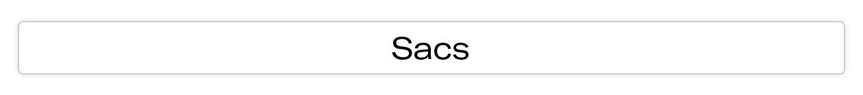 Landing page pour sacs