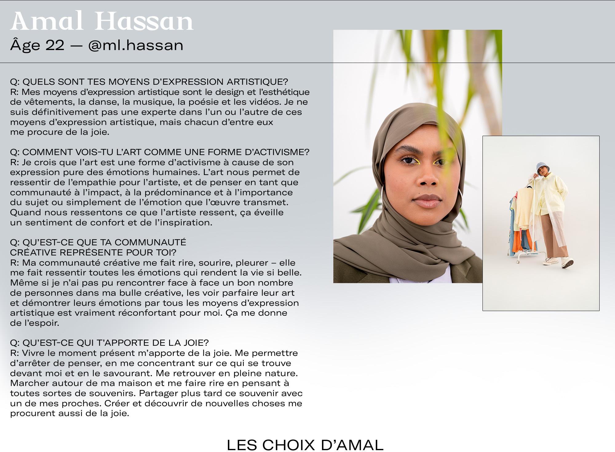 Amal Hassan Q&A