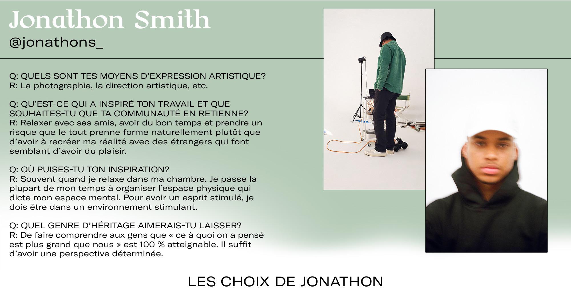 Jonathon Smith Q&A