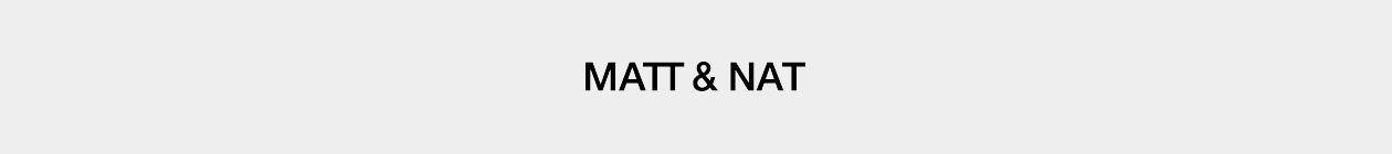 Matt & Nat header image
