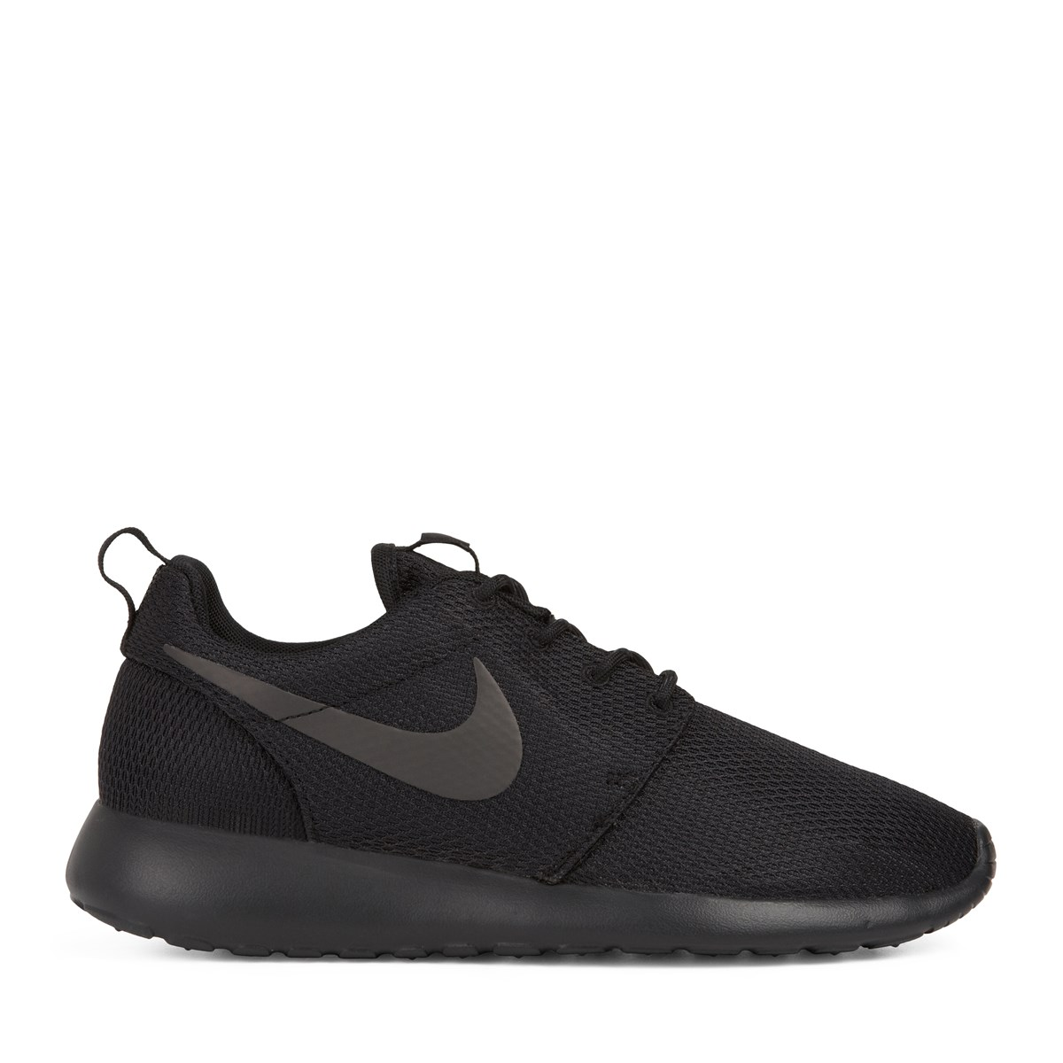 Women s Roshe One All Black Sneaker. Previous. default view ... 0bc9e9fdde