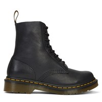 Women's Core Pascal Black Leather 8-Eye Boots