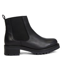 Women's Beatrice Heeled Chelsea Boots in Black