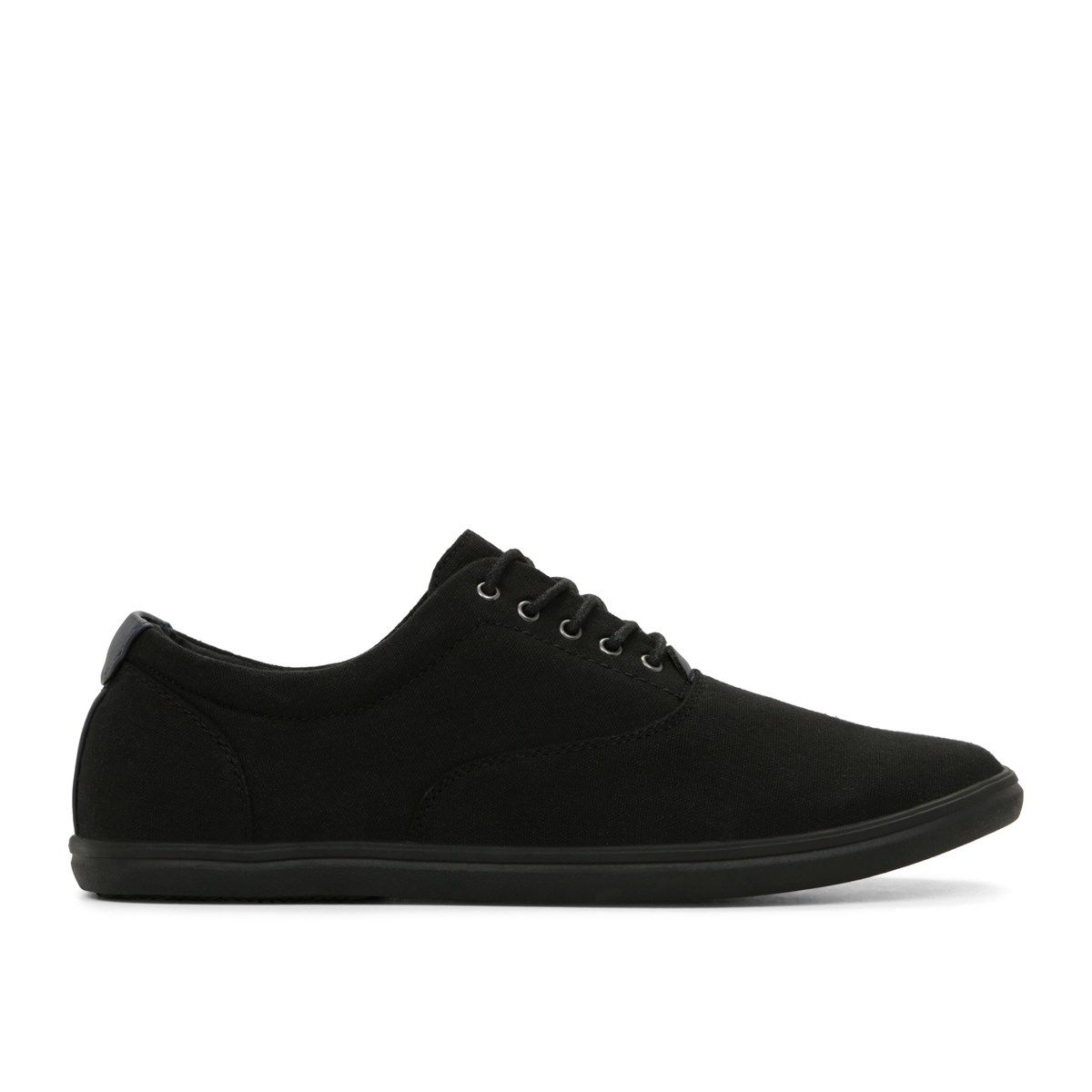 Men's Canvas Lace-up Shoe With Gum Sole