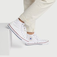 Men's Chuck Taylor All Star Classic Hi Top Sneakers in White