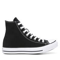 Men's Chuck Taylor All Star Classic Hi Top in Black/White