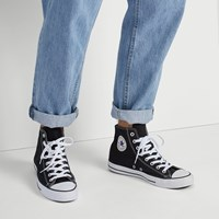 Men's Chuck Taylor All Star Classic Hi Top in Black and White