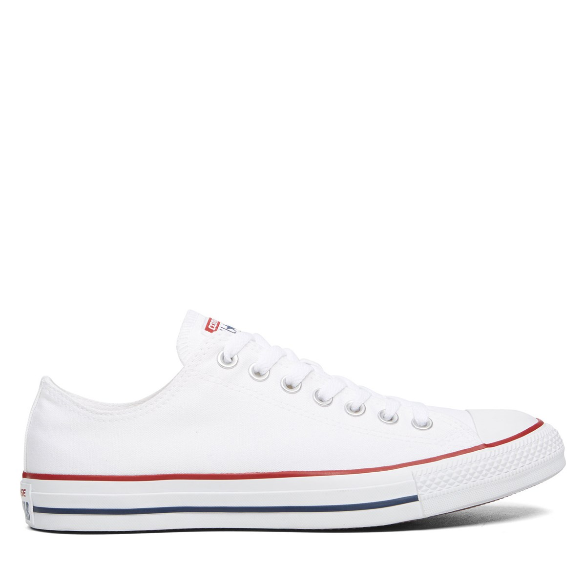 Men's Chuck Taylor Classic Low Top Sneakers in White