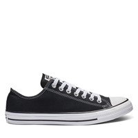 Men's Chuck Taylor Classic Low Top Sneakers in Black