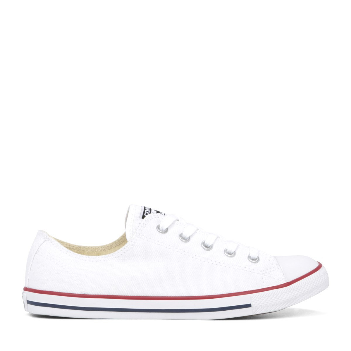 Womens Chuck Taylor All Star Dainty Sneakers in White