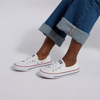 Baskets Chuck Taylor All Star Shoreline blanches pour femmes