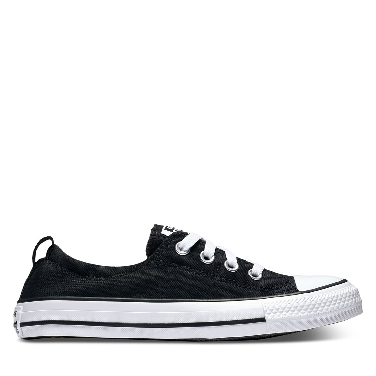 Women's Chuck Taylor All Star Shoreline Slip-Ons in Black