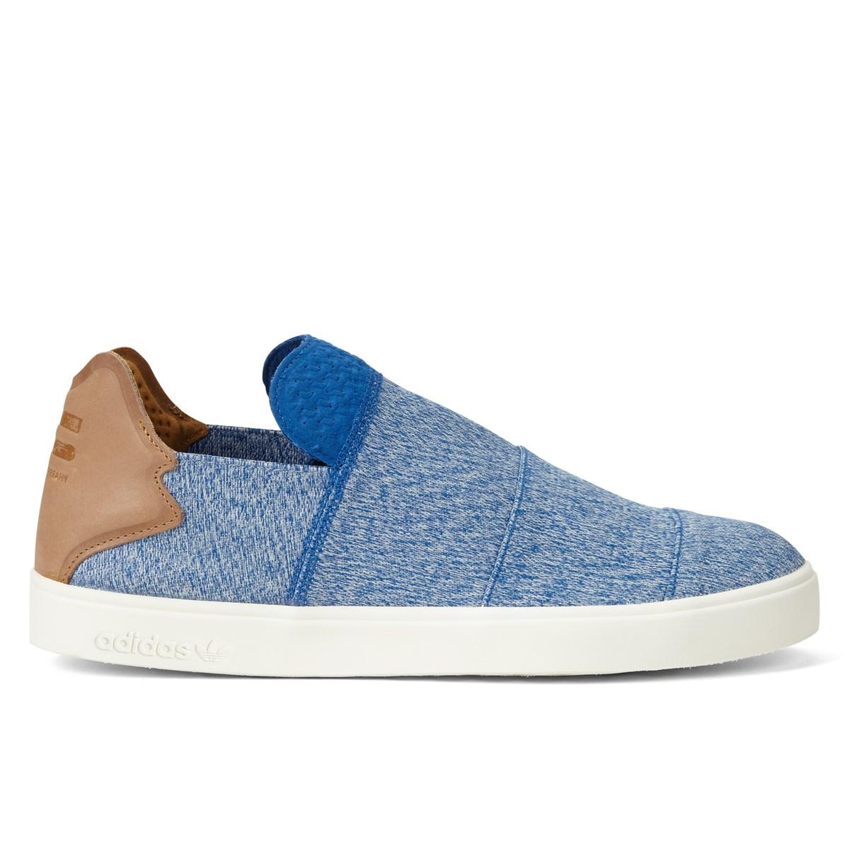 Baskets Vulc Pharrell Williams Slip On en bleu pour hommes