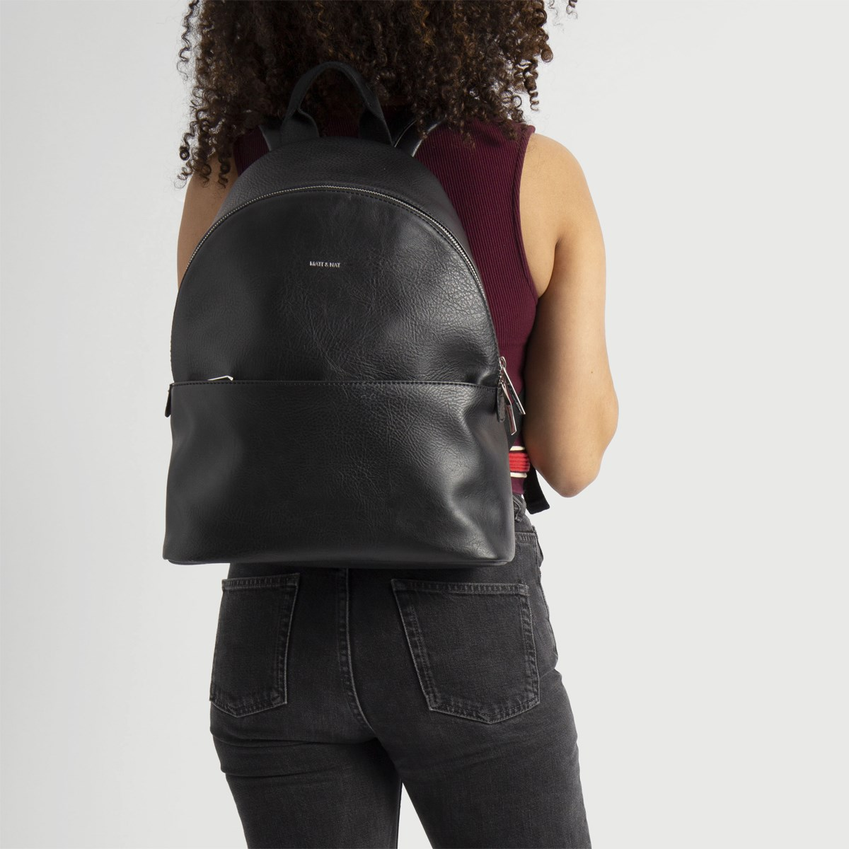July Vegan Backpack in Black