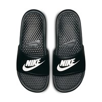 Men's Benassi Slides in Black