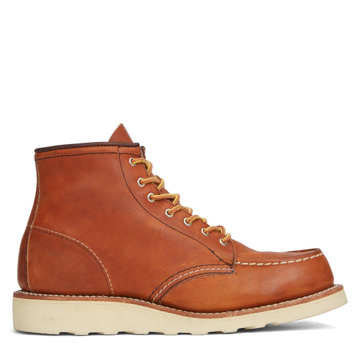 Women's 6 Inch MOC Cognac Boot