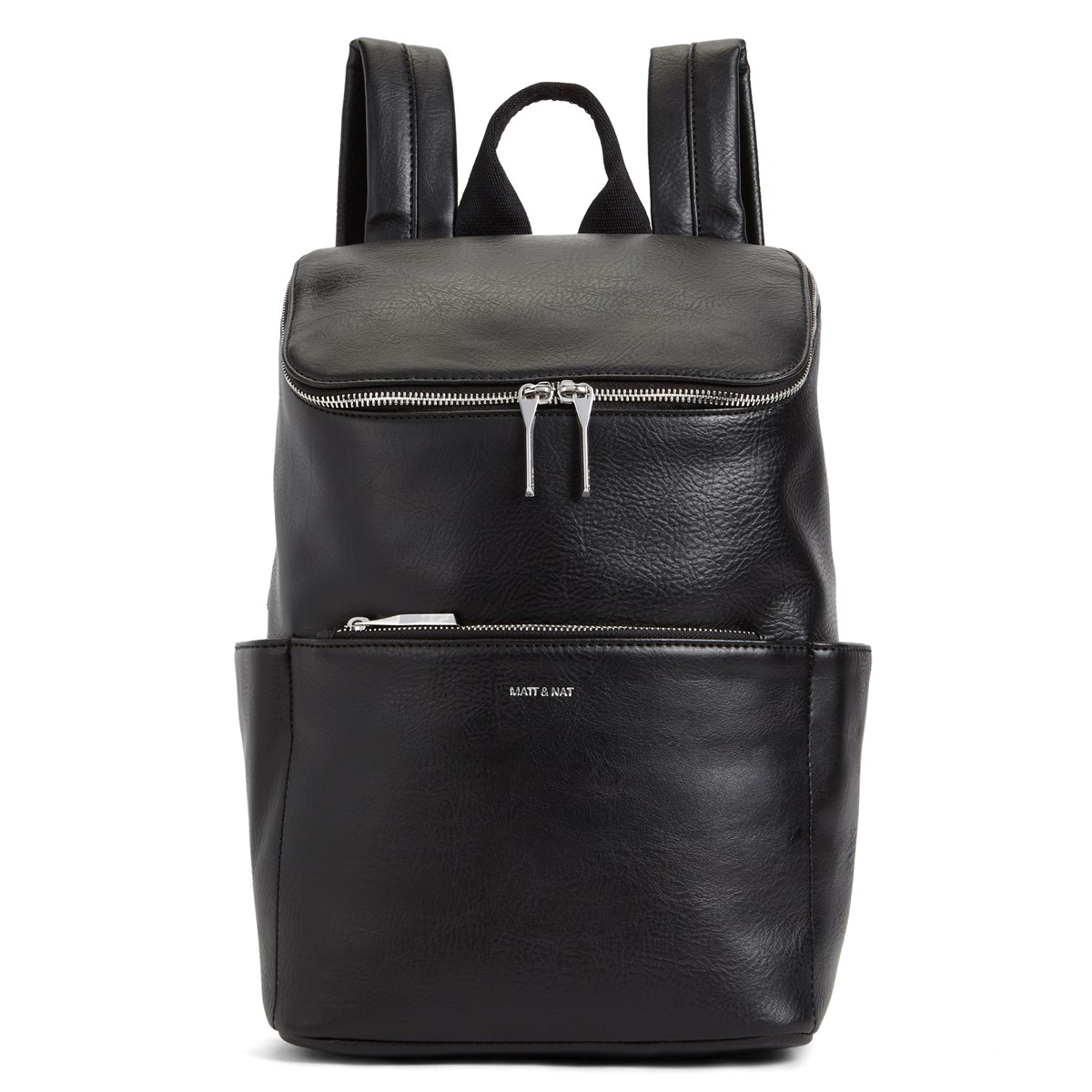 Brave Vegan Backpack in Black
