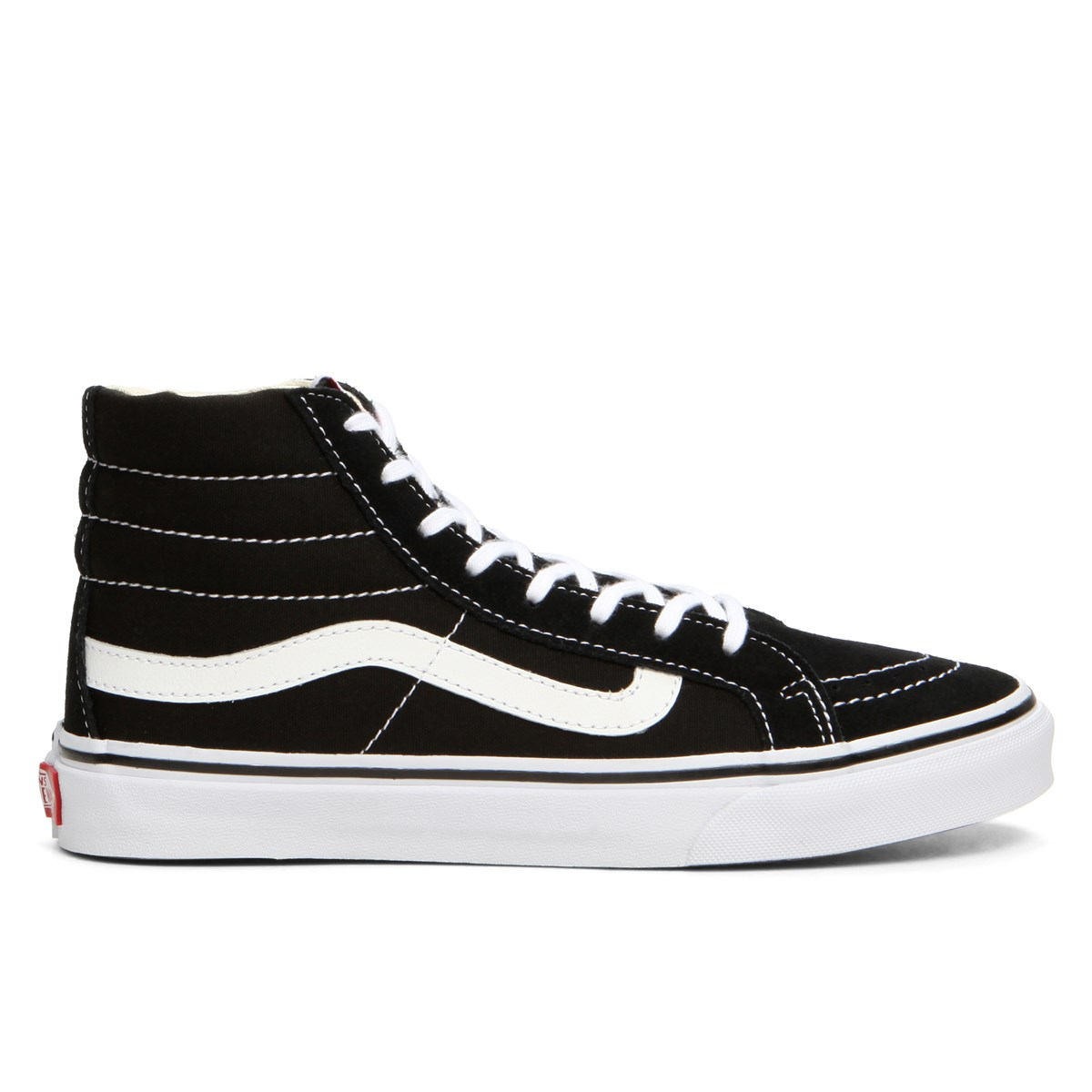 ddbbc58e936706 Women s Sk8 Hi Slim Black Sneaker. Previous. default view  ALT1  ALT2