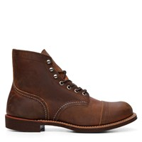 Men's Iron Ranger Vibram Boots in Cognac