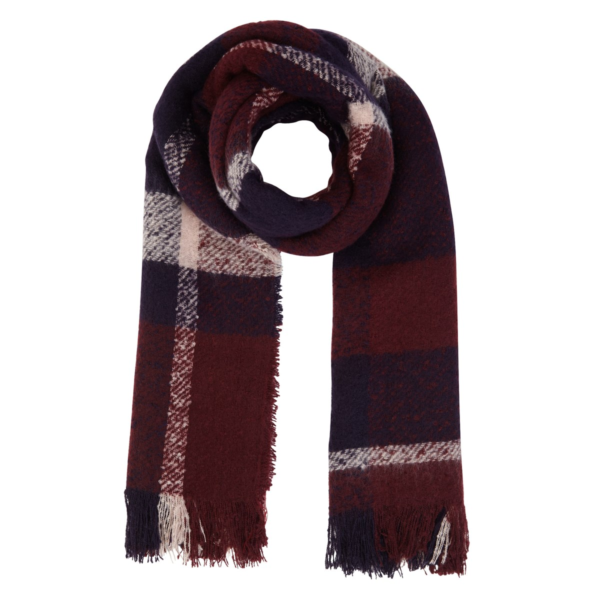 Women's Liza Bordeaux Scarf