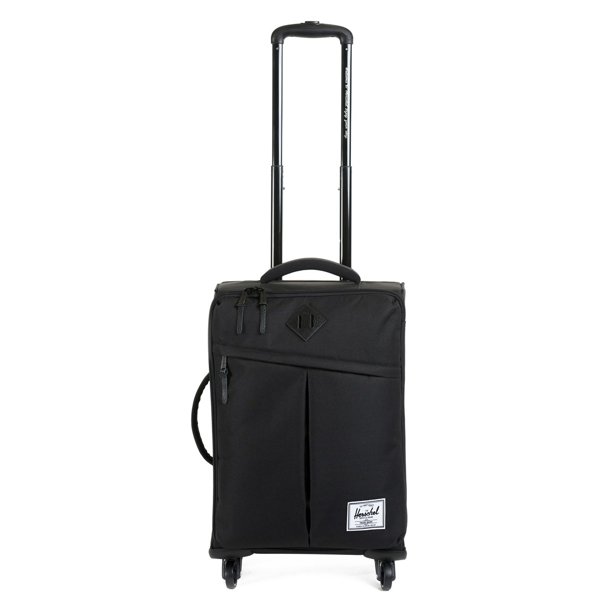 Highland Dark Black Carry-On Luggage