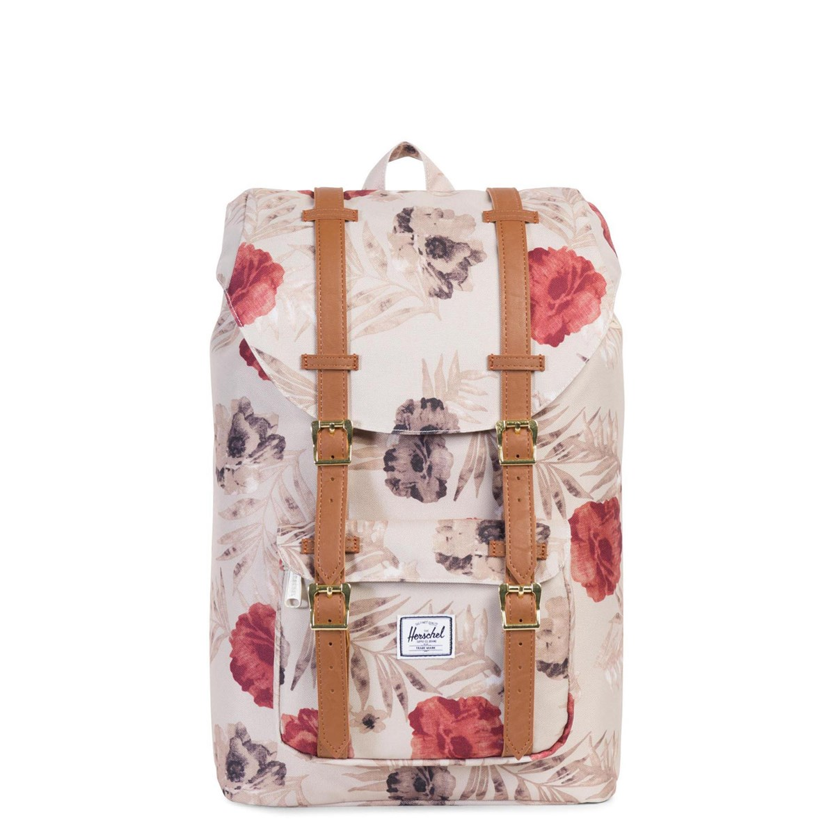 6a737c2b039 Little America Mid Volume Beige Floral Backpack. Previous. default view ...