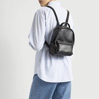 Munich Mini Black Backpack