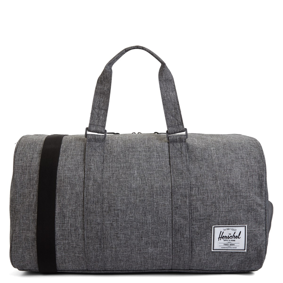 5e12fa82e960 Novel Weekender Duffle Bag in Dark Grey and Tan