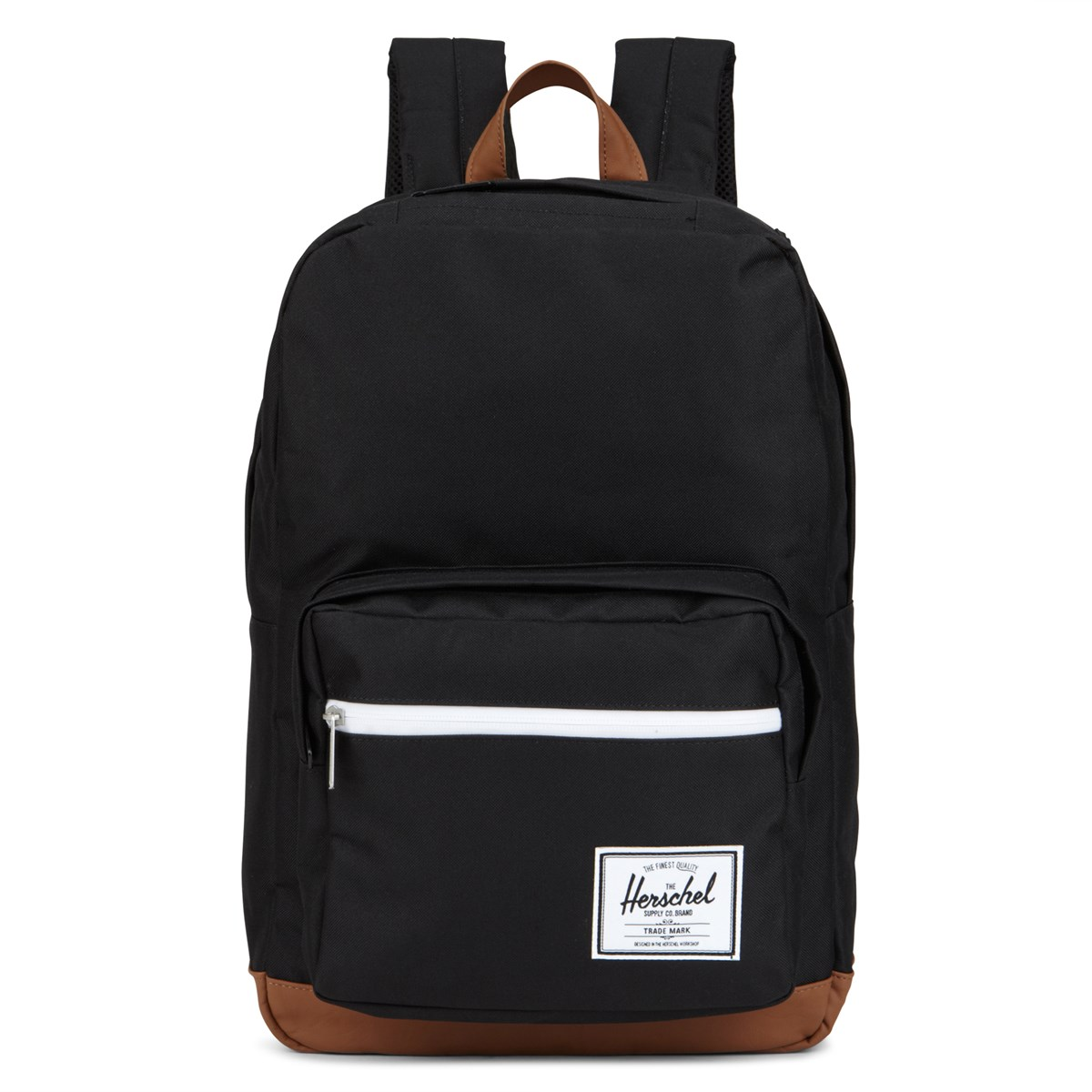 Pop Quiz Backpack in Black/Beige