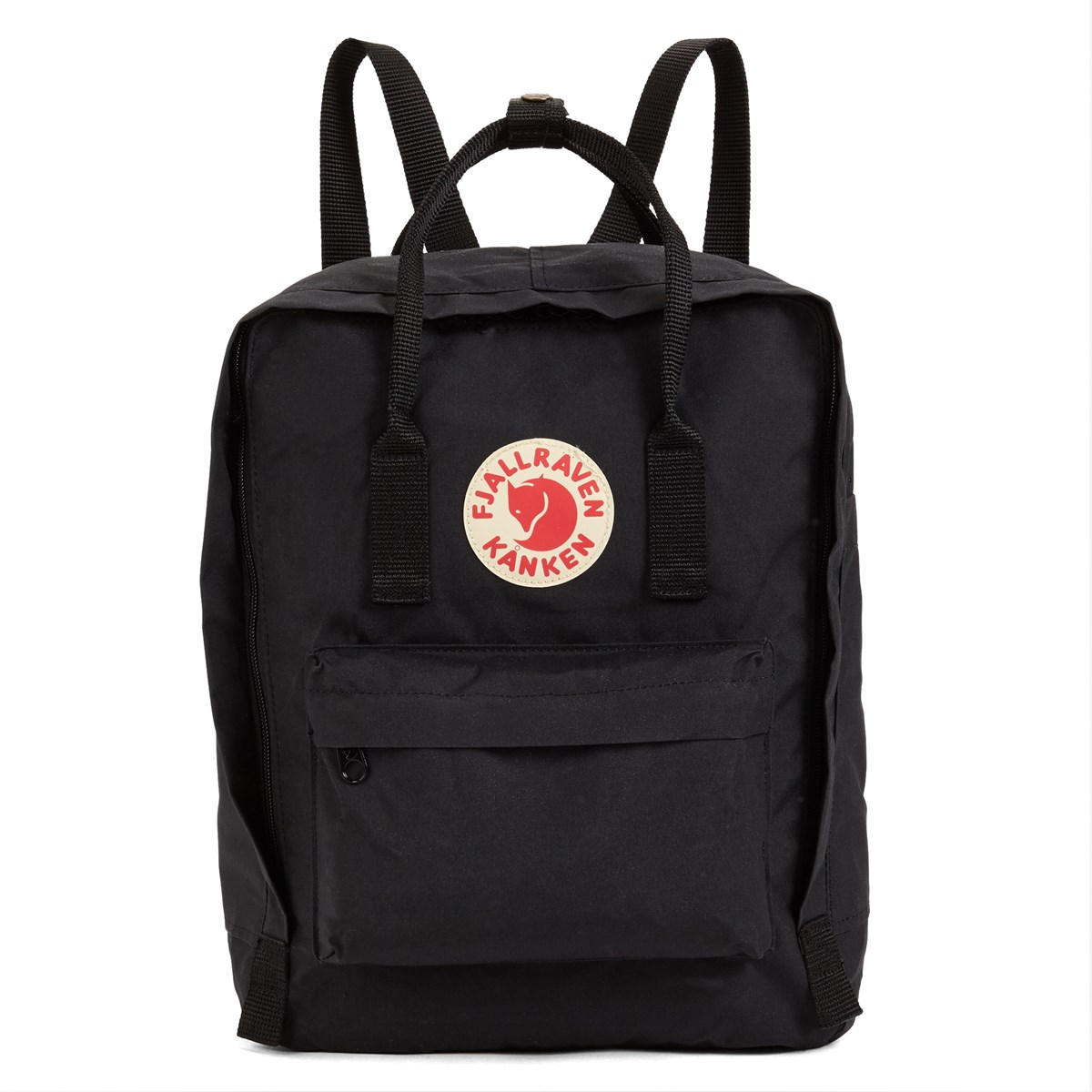 7784134f1 Kanken Backpack in Black. Previous. default view; ALT1; ALT2