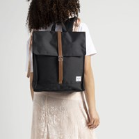 City  Mid-Volume Black Backpack