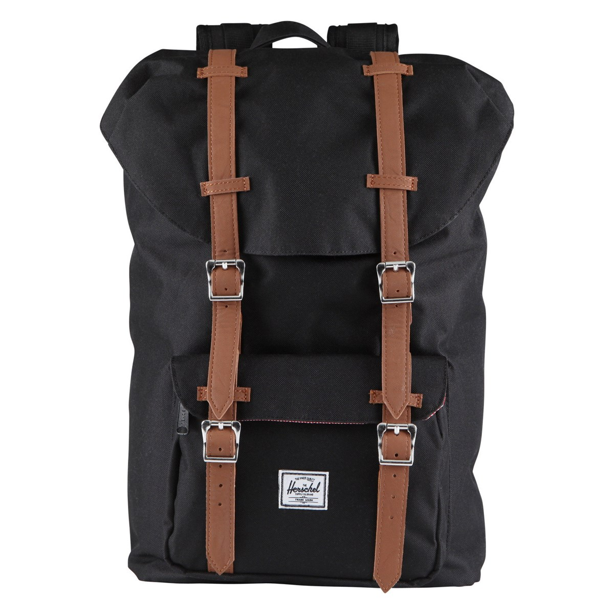 Little America Mid Volume Backpack in Midnight Black