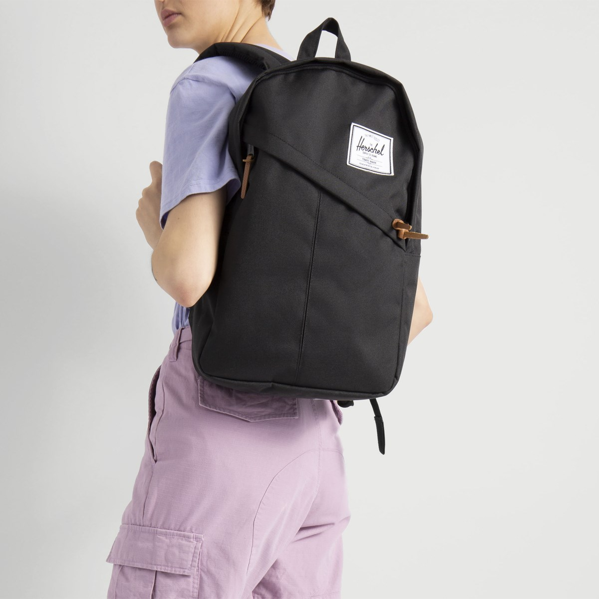 a6771cbbaa Parker Backpack in Black | Little Burgundy