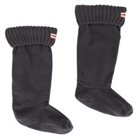 Women's Half Cardigan Dark Grey Boot Sock