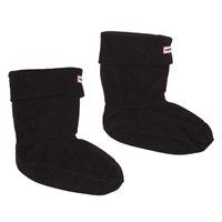 Women's Short Welly Black Boot Sock