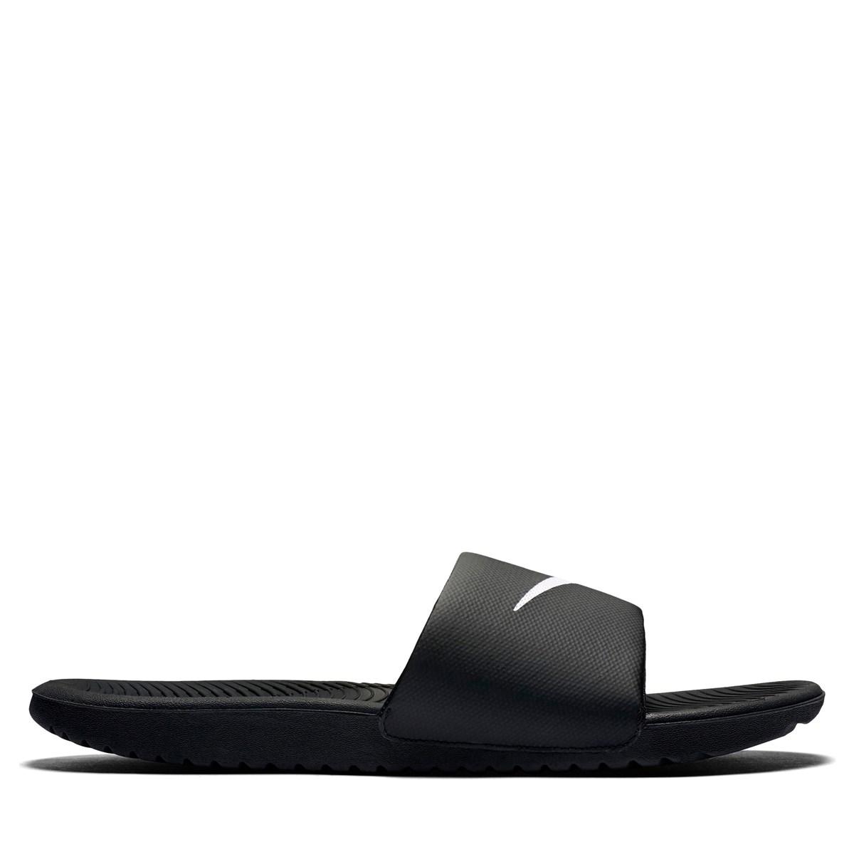 Sandales Kawa Slide noires pour hommes