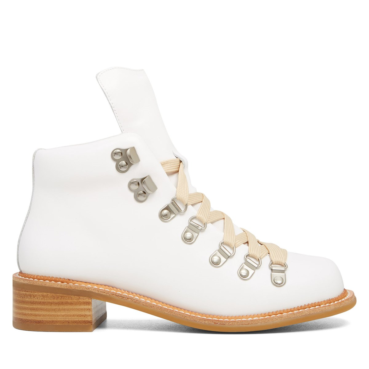 Women's Traveler White Boot