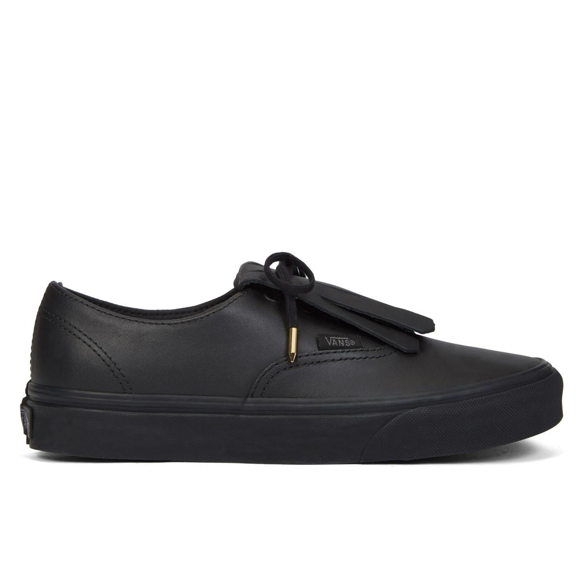 d09d74dc5a0f9f Women s Authentic Fringe Black Sneaker. Previous. default view  ALT1  ALT2