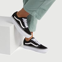 Women's Old Skool Platform Sneakers in Black