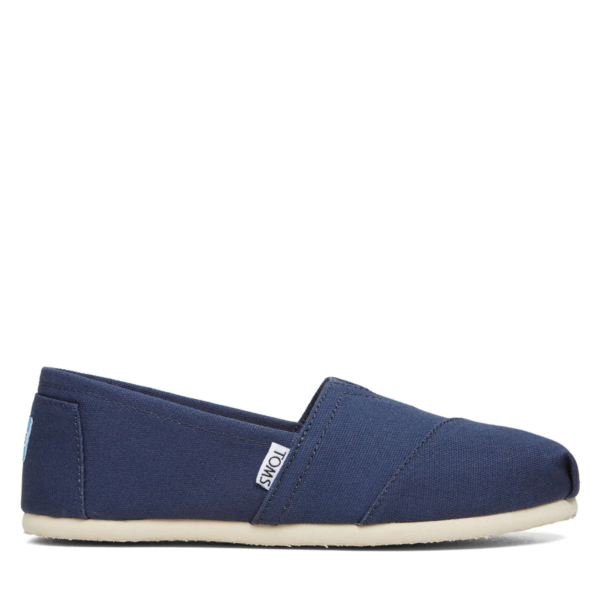 Women's Alpargata Canvas Navy Slip-On