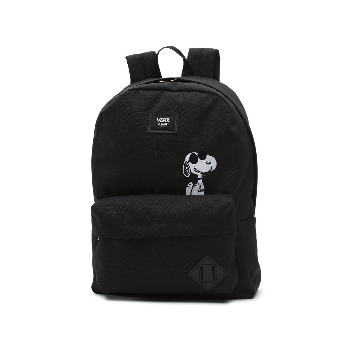 Peanuts Old Skool II Black Backpack