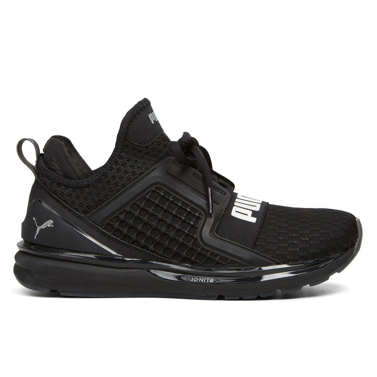 Men's Ignite Limitless Core Black Sneaker